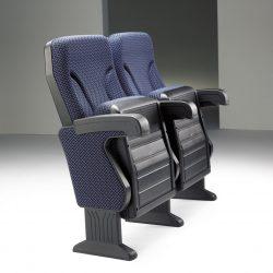 כיסא אודיטוריום ARGENTINA תוצרת חברת EURO SEATING כולל משטח כתיבה