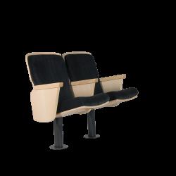 כיסא להיכלי תרבות דגם Wagner מתוצרת חברת EURO SEATING ספרד
